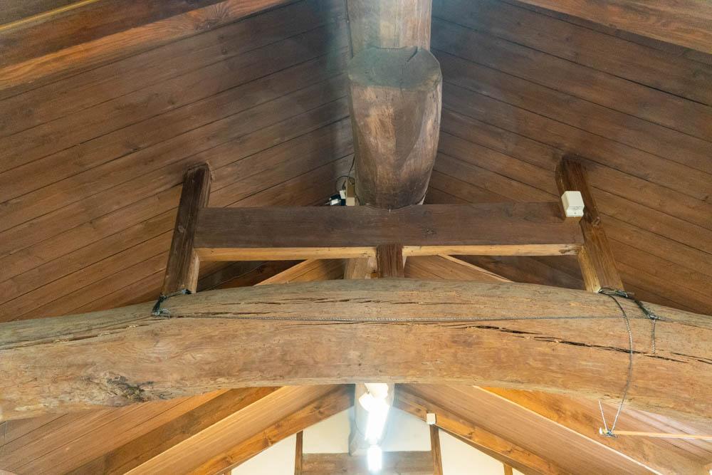 本館の屋根
