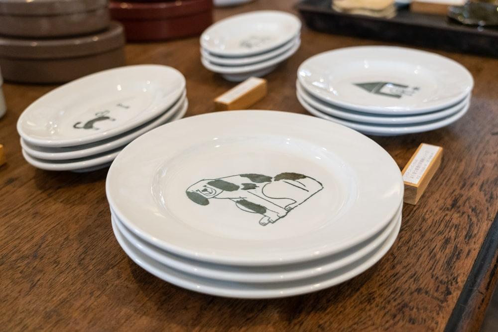 倉敷意匠アチブランチ  トラネコボンボン「よく使う普通の洋食器」シリーズ