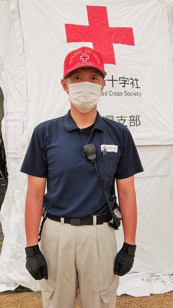日本赤十字社 岡山県支部の横松秀信(よこまつ ひでのぶ)さん