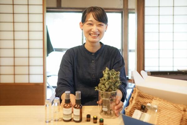 高梁川志塾「倉敷薄荷ワークショップ」 〜 手作りアロマミストの香りを楽しむ