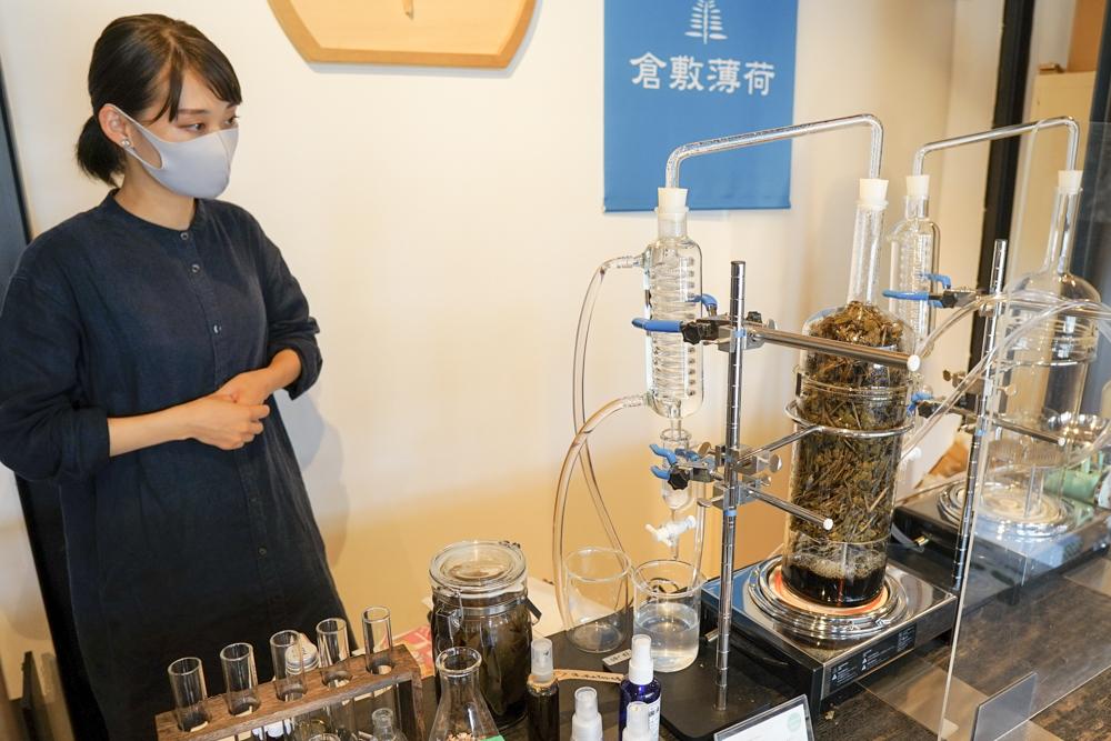 化学実験に使うようなガラス器具