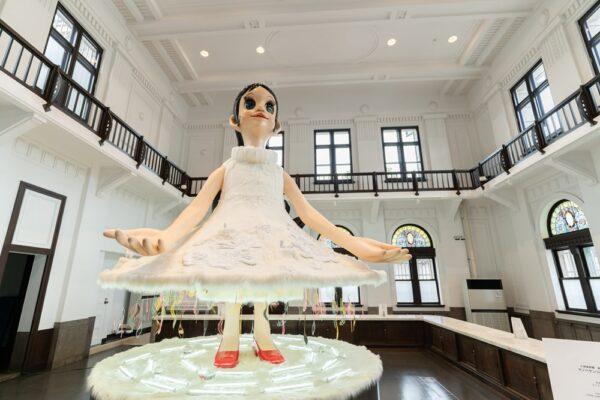新児島館(仮称)2021年10月から暫定開館 ~ 期間限定、ヤノベケンジさんの大型作品を見よう